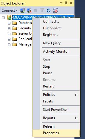 Server Properties