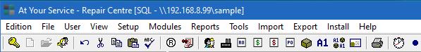 MS SQL Server database type